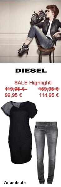 Diesel Winterschlussverkauf bei Zalando