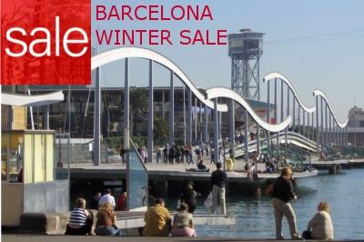 Barcelona Winterschlussverkauf 2015