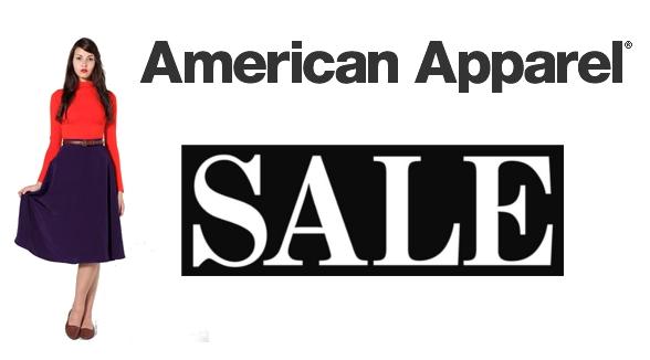 american apparel winterschlussverkauf 2013