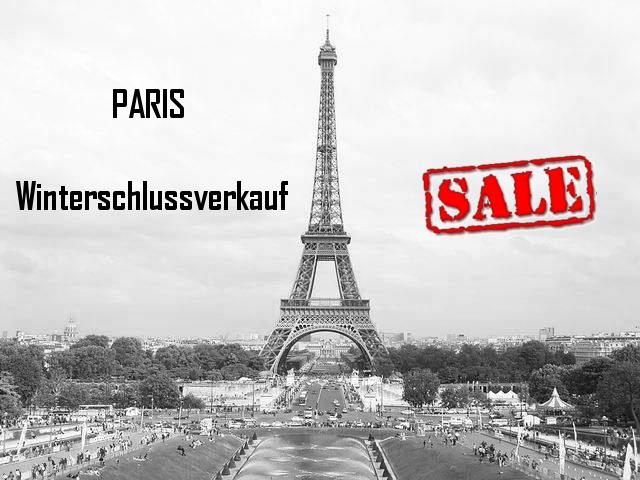 Winterschlussverkauf in Paris - alle Termine
