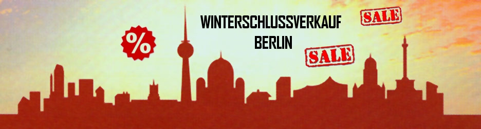 Winterschlussverkauf Berlin 2015