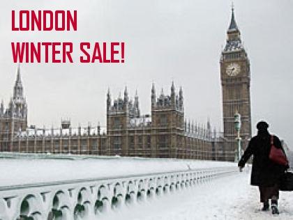 Winterschlussverkauf London 2013