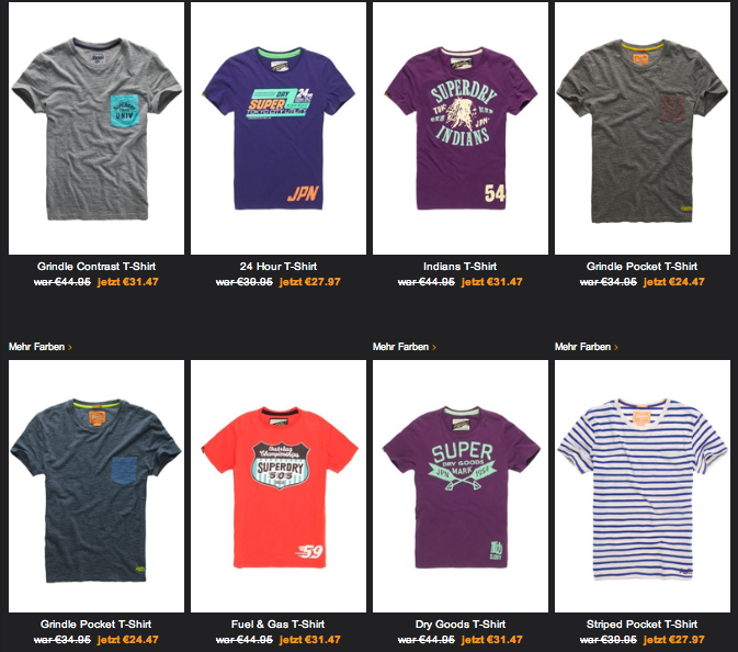 Superdry T-Shirt Sale Online